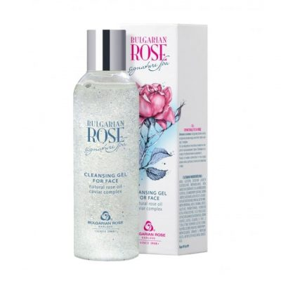 Cleansing Gel for Face Bulgarian Rose Signature Spa 200 ml
