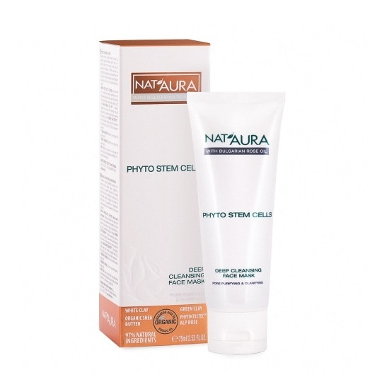 Deep cleansing face mask NAT'AURA 75ml