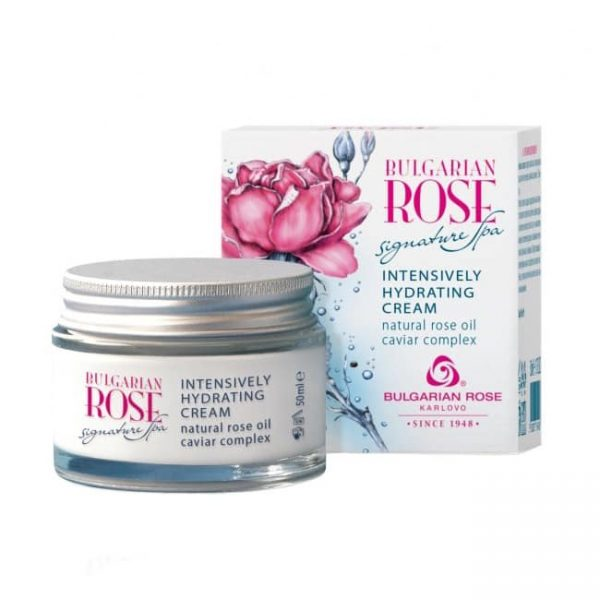 "Intensively Hydrating Cream ""Bulgarian Rose Signature Spa"" 50 ml"