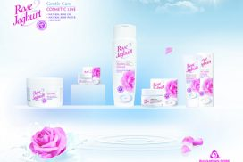 Rose Yoghurt cosmetics series