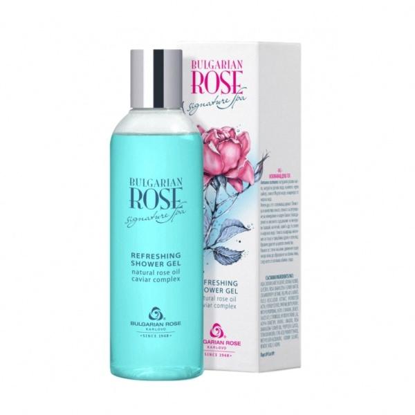 "Refreshing Shower Gel ""Bulgarian Rose Signature Spa"" 200ml"