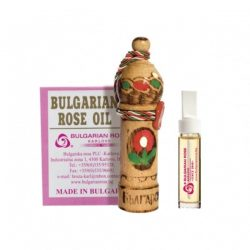 Wooden souvenir with natural rose oil 1.0 ml