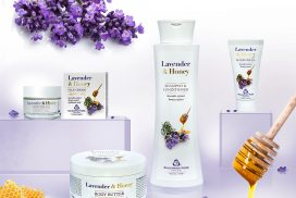 Lavender and Honey cosmetics series