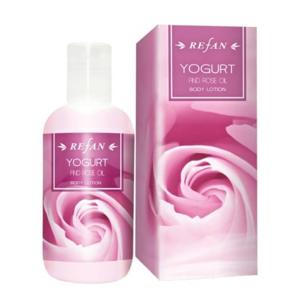 Body lotion Yogurt and Rose oil 200ml
