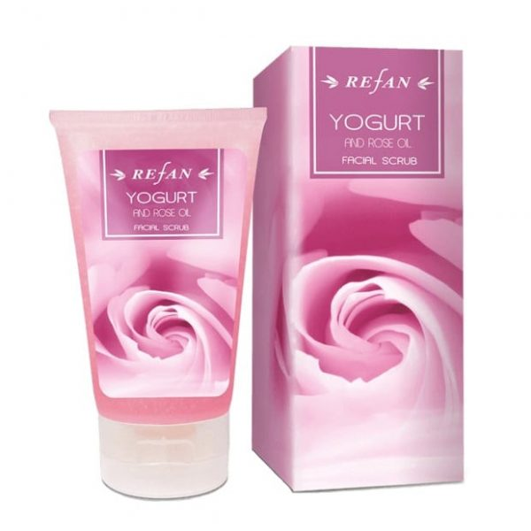 Facial scrub yogurt and rose oil 150ml