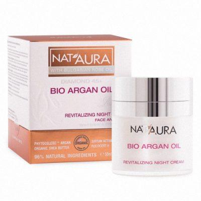 Revitalizing night cream NAT'AURA 45+