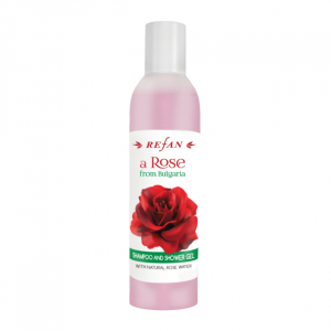 "Shampoo and shower gel A ""Rose from Bulgaria "" 250 ml"