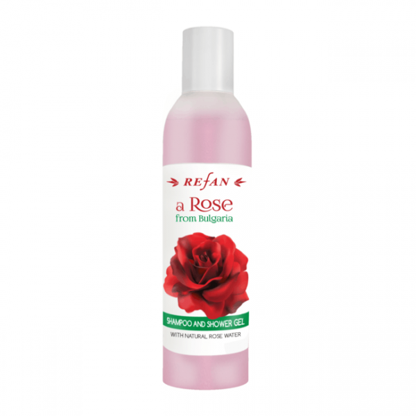 """Shampoo and shower gel A """"Rose from Bulgaria """" 250 ml"""