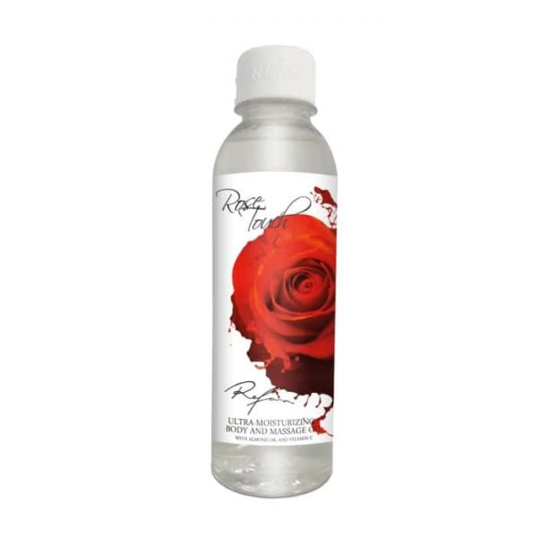 Ultra moisturizing body and massage oil Rose Touch