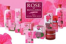 Rose of Bulgaria cosmetics series
