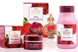 Royal Rose cosmetics series
