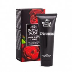 After shave cream Royal Rose 75 ml