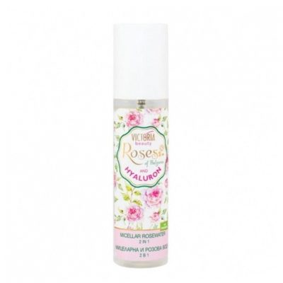 Micellar Rosewater with bulgarian rose oil and hyaluronic acid 2 in 1 150ml