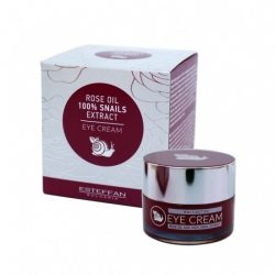 Active eye cream with extract of snails and roseoil 25ml