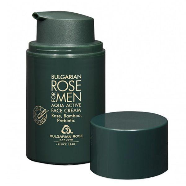 Bulgarian Rose for Men Aqua Active Face Cream 50ml
