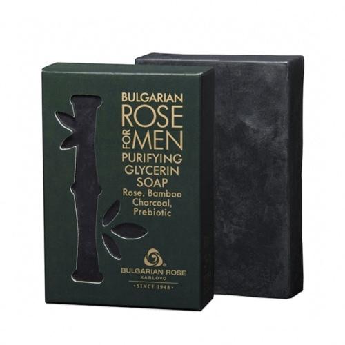Bulgarian Rose for Men Purifying Glycerin Soap 80g