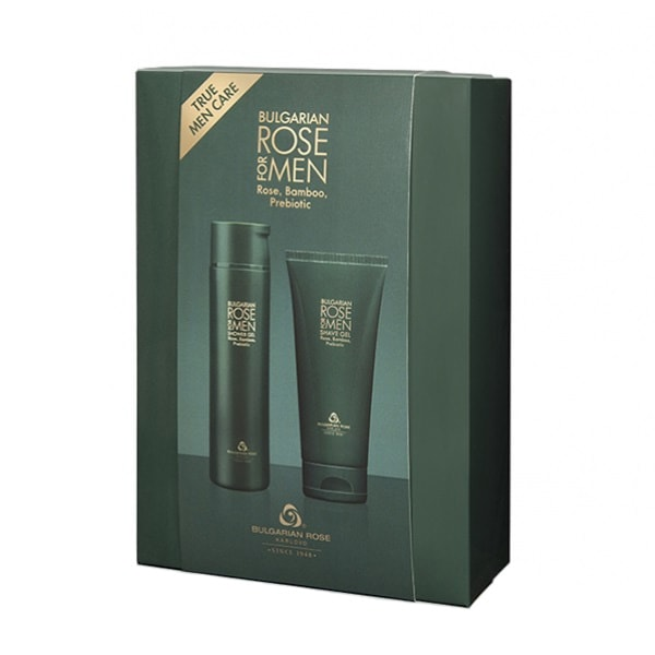 Gift set Bulgaria Rose for Men Shower Gel and Shave Gel