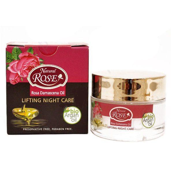 Lifting Night Care Rose and Argan Oil 50ml