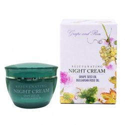 Night Cream with Grape Seed Oil and Rose oil 50ml