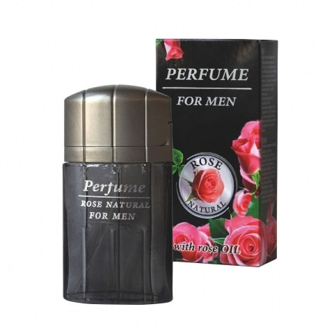 Perfume Rosa Natural with Rose Oil for Men 50ml
