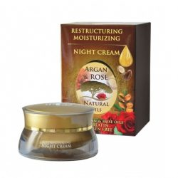 Renewing night cream Argan and Rose Oil 40ml