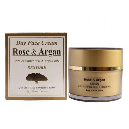 Day Face Cream Rose and Argan oils 50 ml