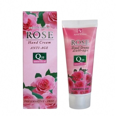 Hand Cream ROSE with Q10 and rose oil 75 ml