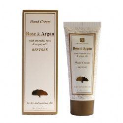 Hand Cream Rose and Argan oils 75 ml