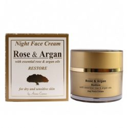Night Face Cream Rose and Argan 50 ml