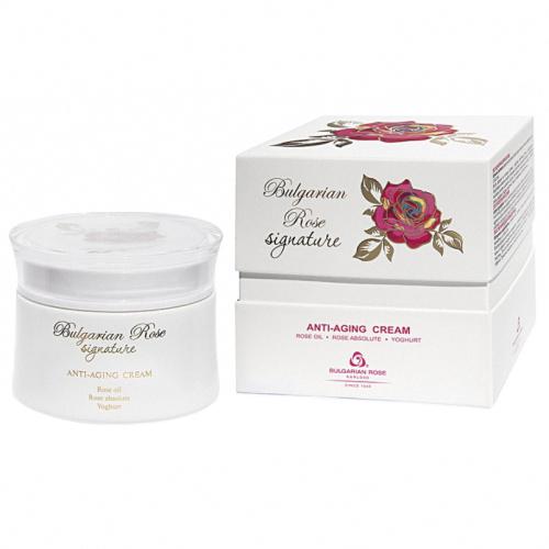 Anti-ageing face cream Bulgarian Rose Signature 50ml