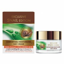 Comfortable Moisturizing Day Cream with Snail Extract and Hyaluronic Acid 50