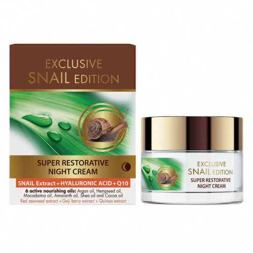 Exclusive Snail Edition super regenerating night cream 50ml