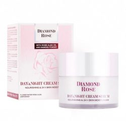 Day & Night Cream Serum for Dry skin Diamond Rose 50ml