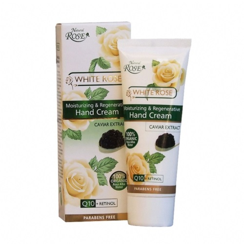 Hand Cream White Rose & Caviar Extract 75ml