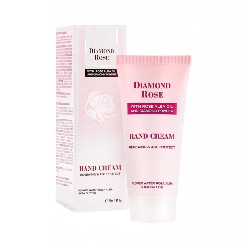 Renewing hand cream Diamond Rose 50ml