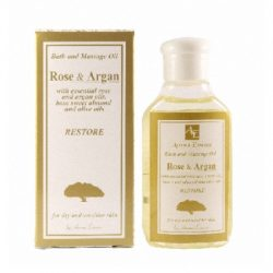 "Restoring Bath and Massage Oil ""Rose & Argan"" 50ml"
