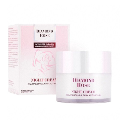 Revitalizing night cream Diamond Rose 50ml