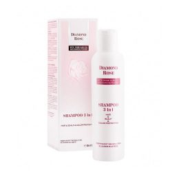 Shampoo 3 in 1 hair & scalp & color Diamond Rose 200ml