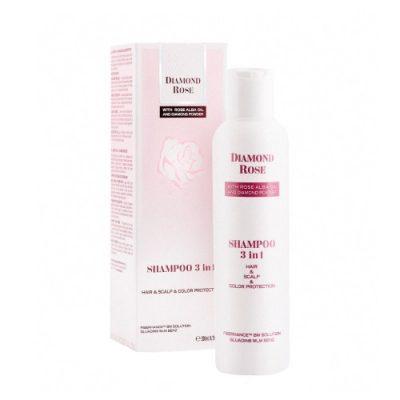 Shampoo 3 in 1 hair & scalp & color Diamond Rose 200ml