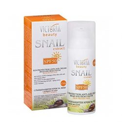 Sun protection face cream SPF 50 with snail extract 50ml