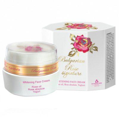Whitening Face Cream Bulgarian Rose Signature 30 ml