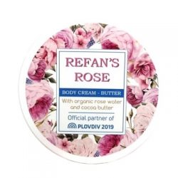 Body Cream Butter Refan's Rose 200 ml
