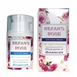 Day Face Cream Refan's Rose 50ml