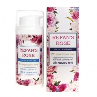 Facial Wash Gel Refan's Rose 100ml