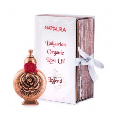 Bulgarian Rose Oil Organic Nat'aura 1.2 ml