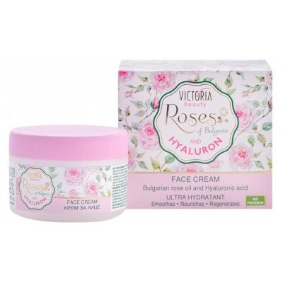 Face Cream with Rose Oil and Hyaluronic Acid 50 ml