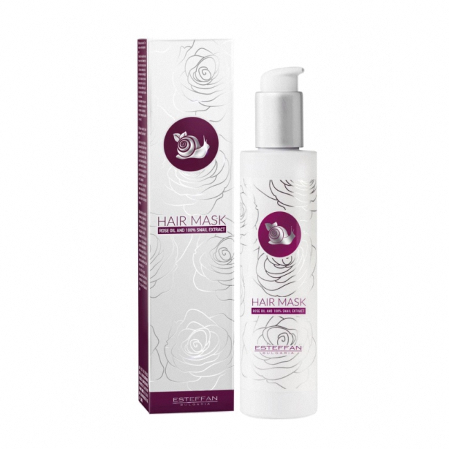 Hair Mask Rose Oil and Snail Extract 200 ml